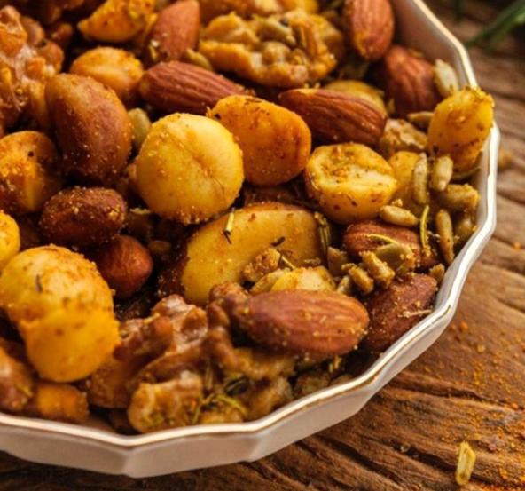 Mix de nuts temperado