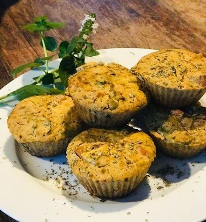 Muffin vegano de legumes