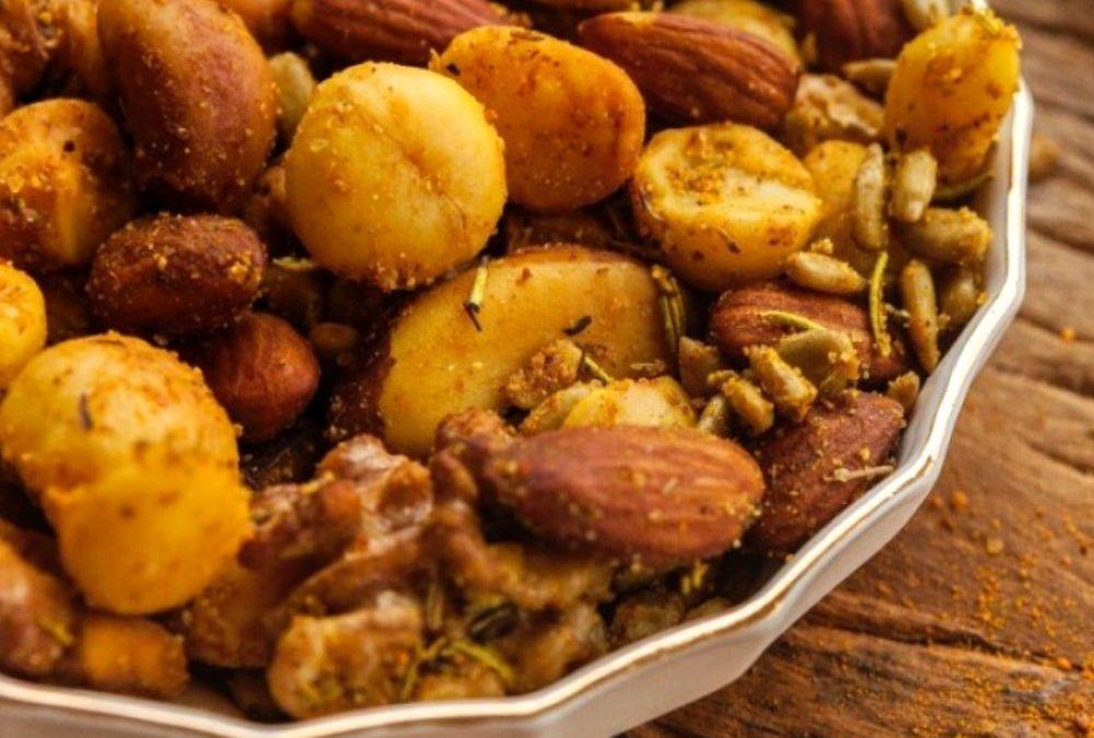 Mixed nuts com óleo de coco